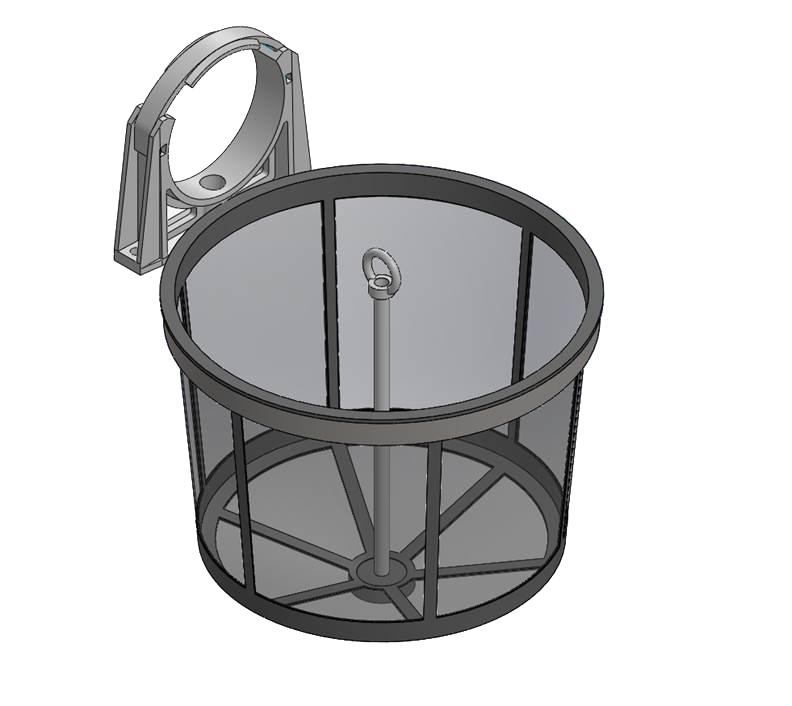 EVO Basket Basic PE mit Edelstahlring